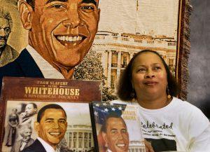 Obama voter portrait